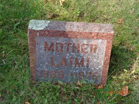 PIHLAJA, LAIMI - Marquette County, Michigan | LAIMI PIHLAJA - Michigan Gravestone Photos