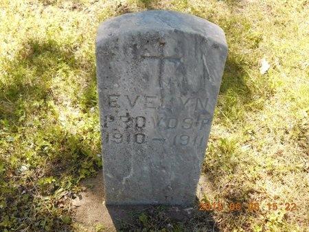 PROVOST, EVELYN - Marquette County, Michigan | EVELYN PROVOST - Michigan Gravestone Photos