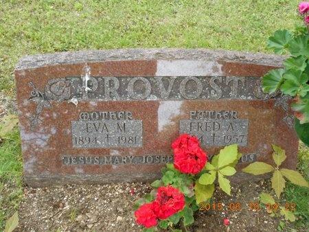 PROVOST, FRED A. - Marquette County, Michigan | FRED A. PROVOST - Michigan Gravestone Photos