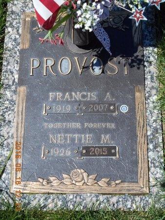 PROVOST, FRANCIS A. - Marquette County, Michigan | FRANCIS A. PROVOST - Michigan Gravestone Photos