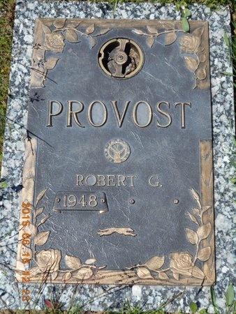PROVOST, ROBERT G. - Marquette County, Michigan   ROBERT G. PROVOST - Michigan Gravestone Photos