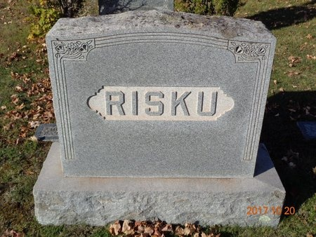 RISKU, FAMILY - Marquette County, Michigan | FAMILY RISKU - Michigan Gravestone Photos