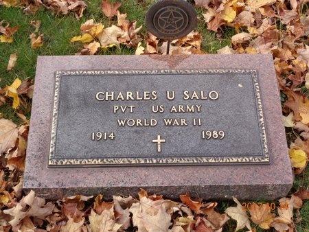 SALO, CHARLES U. - Marquette County, Michigan | CHARLES U. SALO - Michigan Gravestone Photos