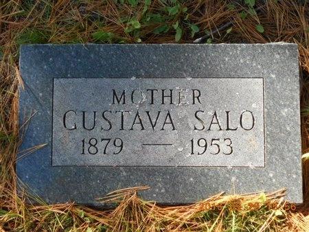 SALO, GUSTAVA - Marquette County, Michigan   GUSTAVA SALO - Michigan Gravestone Photos