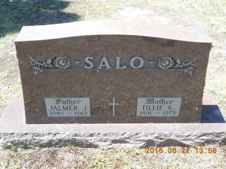 SALO, TILLIE K. - Marquette County, Michigan   TILLIE K. SALO - Michigan Gravestone Photos