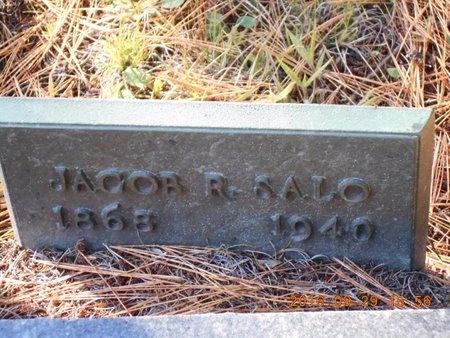 SALO, JACOB R. - Marquette County, Michigan   JACOB R. SALO - Michigan Gravestone Photos