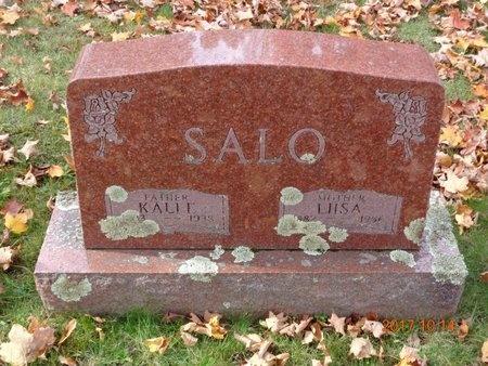SALO, LIISA - Marquette County, Michigan   LIISA SALO - Michigan Gravestone Photos