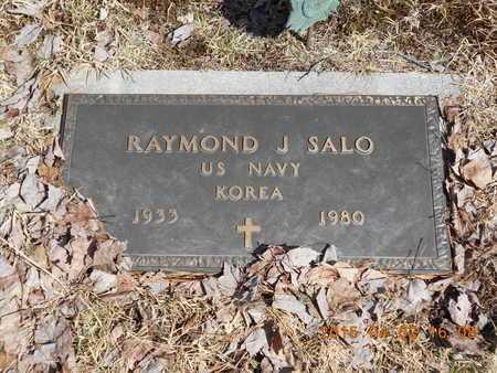 SALO, RAYMOND J. - Marquette County, Michigan | RAYMOND J. SALO - Michigan Gravestone Photos