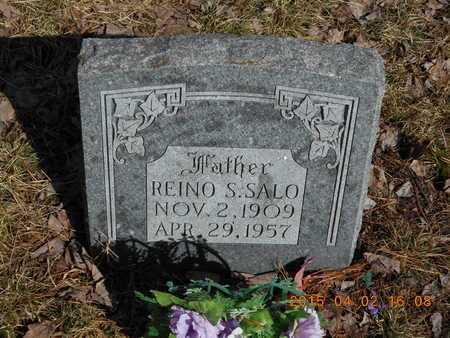 SALO, REINO S. - Marquette County, Michigan | REINO S. SALO - Michigan Gravestone Photos