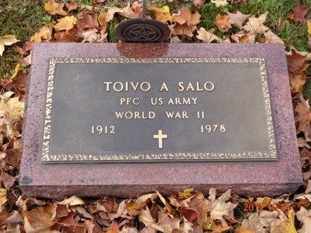 SALO, TOIVO A. - Marquette County, Michigan | TOIVO A. SALO - Michigan Gravestone Photos