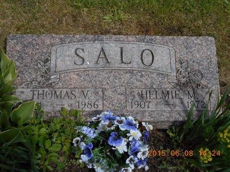SALO, THOMAS V. - Marquette County, Michigan | THOMAS V. SALO - Michigan Gravestone Photos