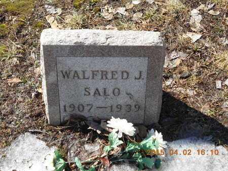SALO, WALFRED J. - Marquette County, Michigan | WALFRED J. SALO - Michigan Gravestone Photos