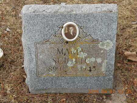 SCIOTTO, MARIA - Marquette County, Michigan | MARIA SCIOTTO - Michigan Gravestone Photos