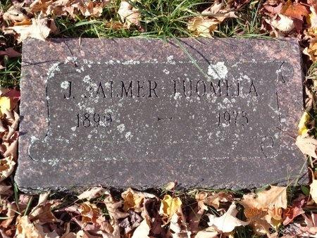 TUOMELA, J. JALMER - Marquette County, Michigan | J. JALMER TUOMELA - Michigan Gravestone Photos