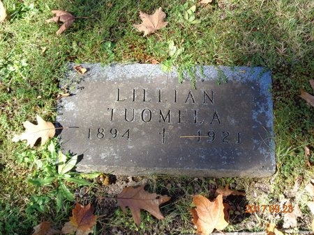 TUOMELA, LILLIAN - Marquette County, Michigan | LILLIAN TUOMELA - Michigan Gravestone Photos