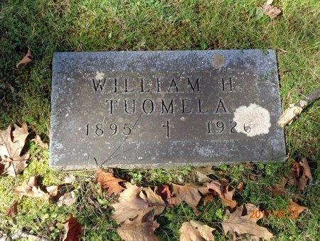 TUOMELA, WILLIAM H. - Marquette County, Michigan | WILLIAM H. TUOMELA - Michigan Gravestone Photos