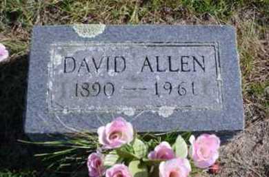 ALLEN, DAVID - Mecosta County, Michigan | DAVID ALLEN - Michigan Gravestone Photos