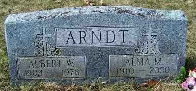 ARNDT, ALMA M. - Mecosta County, Michigan | ALMA M. ARNDT - Michigan Gravestone Photos