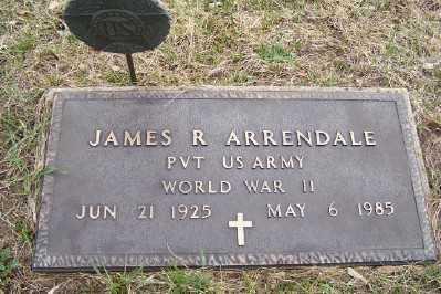 ARRENDALE, JAMES R. - Mecosta County, Michigan | JAMES R. ARRENDALE - Michigan Gravestone Photos