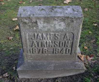 ATKINSON, JAMES A - Mecosta County, Michigan | JAMES A ATKINSON - Michigan Gravestone Photos