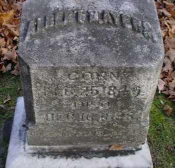 AYERS, ALBERT - Mecosta County, Michigan   ALBERT AYERS - Michigan Gravestone Photos