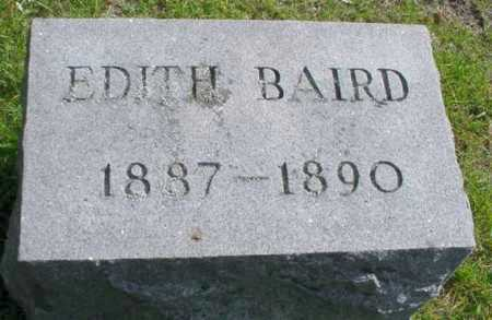 BAIRD, EDITH - Mecosta County, Michigan | EDITH BAIRD - Michigan Gravestone Photos