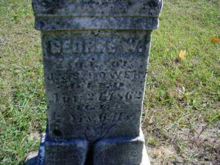 BOWER, GEORGE W. - Mecosta County, Michigan | GEORGE W. BOWER - Michigan Gravestone Photos