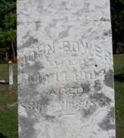 BOWER, JOHN - Mecosta County, Michigan   JOHN BOWER - Michigan Gravestone Photos