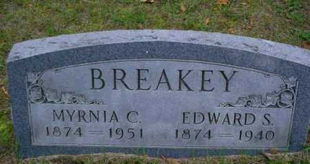 BREAKEY, EDWARD S. - Mecosta County, Michigan | EDWARD S. BREAKEY - Michigan Gravestone Photos