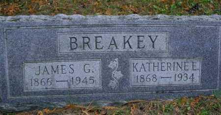 BREAKEY, KATHERINE E. - Mecosta County, Michigan | KATHERINE E. BREAKEY - Michigan Gravestone Photos