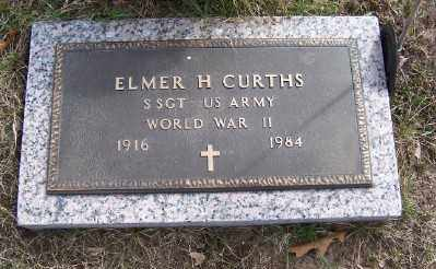 CURTHS, ELMER H. - Mecosta County, Michigan | ELMER H. CURTHS - Michigan Gravestone Photos
