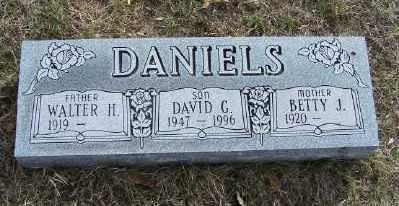 DANIELS, BETTY J. - Mecosta County, Michigan | BETTY J. DANIELS - Michigan Gravestone Photos