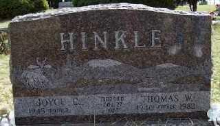 HINKLE, THOMAS W. - Mecosta County, Michigan | THOMAS W. HINKLE - Michigan Gravestone Photos