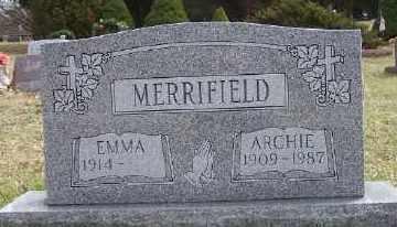 MERRIFIELD, ARCHIE - Mecosta County, Michigan | ARCHIE MERRIFIELD - Michigan Gravestone Photos