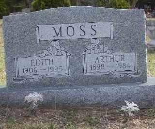 MOSS, EDITH - Mecosta County, Michigan | EDITH MOSS - Michigan Gravestone Photos