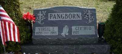 PANGBORN, GERTRUDE - Mecosta County, Michigan | GERTRUDE PANGBORN - Michigan Gravestone Photos
