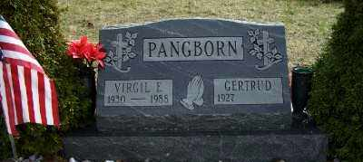PANGBORN, GERTRUDE - Mecosta County, Michigan | GERTRUDE PANGBORN - Michigan Gravestone Photos