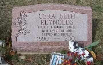 REYNOLDS, CERA BETH - Mecosta County, Michigan   CERA BETH REYNOLDS - Michigan Gravestone Photos