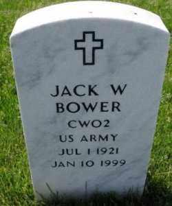 BOWER, JACK W. - Oakland County, Michigan | JACK W. BOWER - Michigan Gravestone Photos