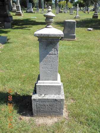 DERTHICK, GEORGE T. - St. Joseph County, Michigan | GEORGE T. DERTHICK - Michigan Gravestone Photos