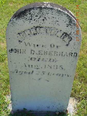 EBERHARD, CHRISTENIA - St. Joseph County, Michigan | CHRISTENIA EBERHARD - Michigan Gravestone Photos