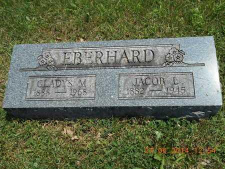 EBERHARD, GLADYS M. - St. Joseph County, Michigan | GLADYS M. EBERHARD - Michigan Gravestone Photos