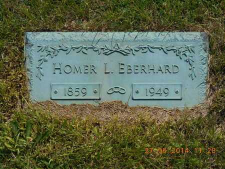 EBERHARD, HOMER L. - St. Joseph County, Michigan | HOMER L. EBERHARD - Michigan Gravestone Photos