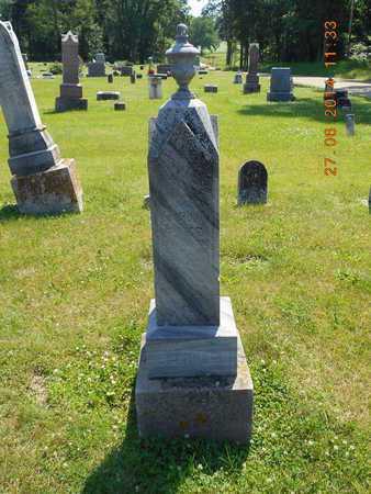 EBERHARD, ISAAC - St. Joseph County, Michigan | ISAAC EBERHARD - Michigan Gravestone Photos