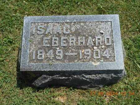 EBERHARD, ISAAC - St. Joseph County, Michigan   ISAAC EBERHARD - Michigan Gravestone Photos