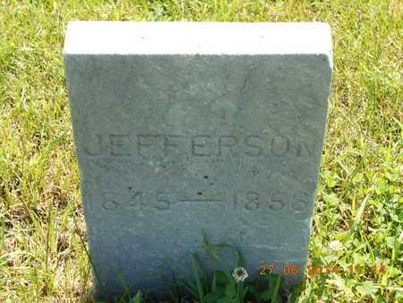 EBERHARD, JEFFERSON - St. Joseph County, Michigan   JEFFERSON EBERHARD - Michigan Gravestone Photos