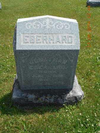 EBERHARD, JONATHAN - St. Joseph County, Michigan   JONATHAN EBERHARD - Michigan Gravestone Photos