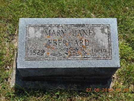 EBERHARD, MARY JANE - St. Joseph County, Michigan | MARY JANE EBERHARD - Michigan Gravestone Photos