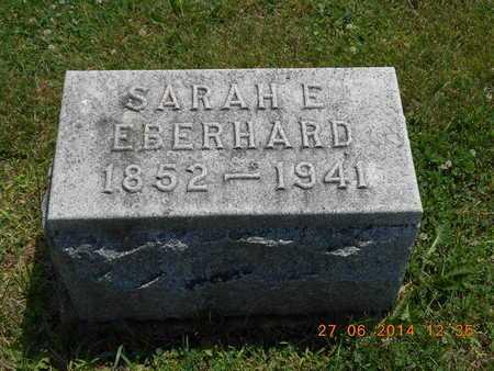 EBERHARD, SARAH E. - St. Joseph County, Michigan | SARAH E. EBERHARD - Michigan Gravestone Photos
