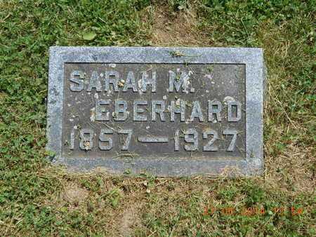 EBERHARD, SARAH M. - St. Joseph County, Michigan   SARAH M. EBERHARD - Michigan Gravestone Photos